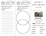 Dear Primo Trifold - Wonders 2nd Grade Unit 4 Weeks 1-2 (2020)