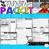Dear Principal, Let's Have a Snow Day! Persuasive Letter Paragraph Packet