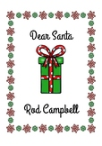 Dear Santa Activities