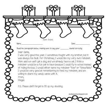Articulation Worksheets | Christmas Speech Therapy Activities