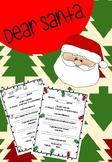 Dear Santa Chirstmas Letter