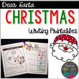 Dear Santa Christmas Writing Printables
