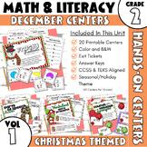 December Centers: Second Grade Math and ELA