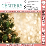 December Centers: Second Grade Math and ELA