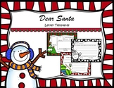 Dear Santa Fill in the Blank Letter Templates