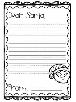 Dear Santa {Freebie}