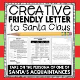 Christmas Writing: Santa Friendly Letter