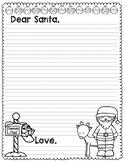 Dear Santa Letter Christmas