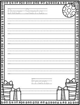 Dear Santa Letter Paper