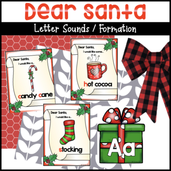 Dear Santa Letter Sounds / Writing Activities