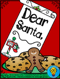 Dear Santa - Letter Templates for Holiday Wishes- ELA - Seasonal