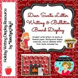 Santa Letter Writing and Bulletin Board Display