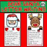 Dear Santa Letter Writing