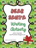 Dear Santa Letter Writing Activity