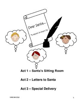 Dear Santa...*Letters to learn by