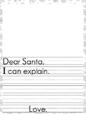 Dear Santa Letters writing prompts