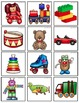 Dear Santa, Toy Vocabulary with Early Syllable Shapes for Very Young Children