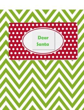 Dear Santa, class book