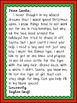 Dear Santa from Your Favorite Celebrity: A Creative Writing Activity!
