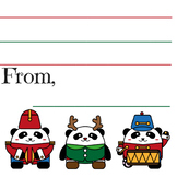 Dear Santa printable stationary for kids Christmas wish lists