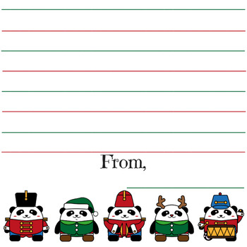 photograph relating to Printable Stationary for Kids known as Pricey Santa printable stationary for little ones Xmas want lists