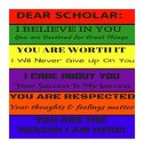 Dear Scholar Motivational Poster