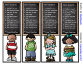Dear Student Bookmarks - Inspirational - GREAT FOR BACK TO SCHOOL
