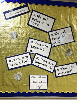 Dear Student Bulletin Board