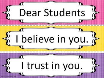 Dear Students