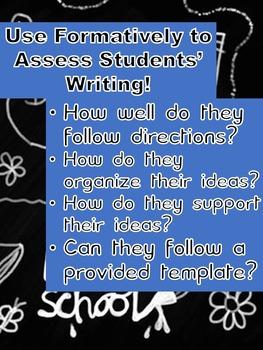Dear Teacher - A Back to School Writing Assignment