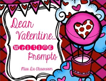 Dear Valentine: February Writing Prompts