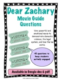 Dear Zachary Movie Guide Questions