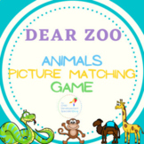 Early Intervention activity animal matching Dear Zoo