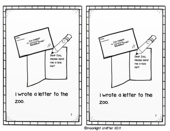 Dear Zoo Book Companion
