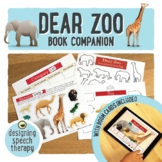 Dear Zoo Book Companion and Boom Cards for Speech and Language
