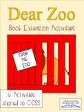 Dear Zoo Book Extension Activities (Pet or Zoo Unit)