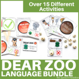 Dear Zoo Language and Phonological Awareness Pack