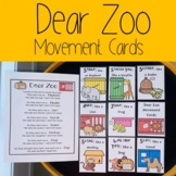 Dear Zoo Movement Cards