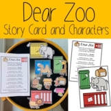 Dear Zoo Story Card and Characters