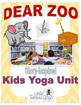 """Dear Zoo"" Storytime Yoga Lesson Plan"