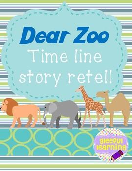 Dear Zoo Time Line Story Retell