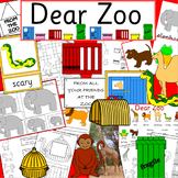 Dear Zoo book study activity pack