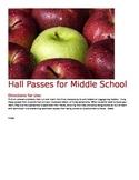 Intermediate Hall Passes