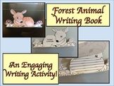 ESL Writing Activity: Deer/Forest Animals Book Template-ELL Newcomers Too!