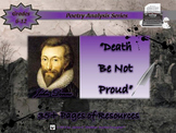 Death Be Not Proud by John Donne Poem Analysis