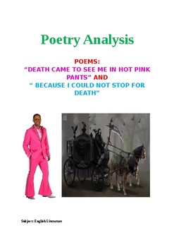 Death Came to See me in Hot Pink Pants  Lesson Plan