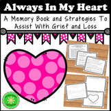 Grief and Loss Journal Memory Book (EDITABLE)