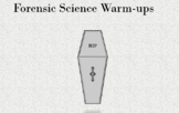 Death-Meaning, Manner, Mechanism, Cause and Time Warm-up