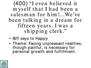 Death of a Salesman Jeopardy Powerpoint