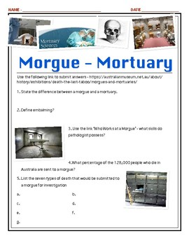 Death Online - Morgues and Mortuaries w/key